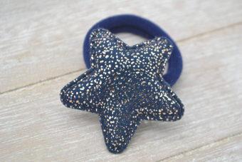 Collection Hiver étoile marine points dorés