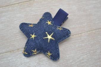 Collection Hiver étoile étoilée jean foncé