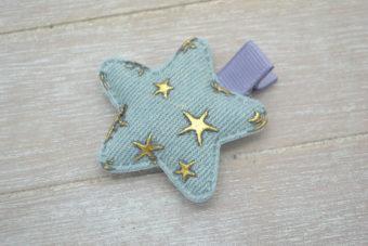 Collection Hiver étoile étoilée denim très clair