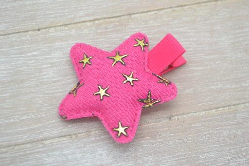 Collection Hiver étoile étoilée fuschia