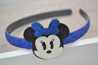 Collection Hiver tête souris bleue