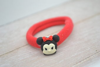 Collection Hiver mini souris noeud rouge