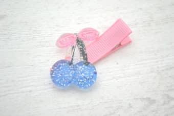 Collection Eté Cerises bleues brillantes