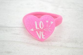 Collection Eté coeur love rose bonbon