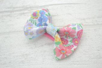 Collection Eté noeud tissu fleuri multicolore