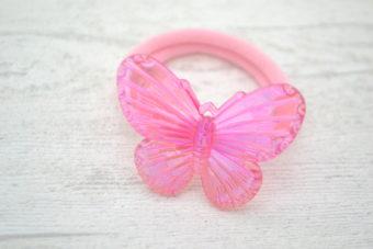 Collection RentréePapillon transparent rose