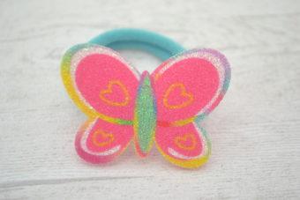Collection Rentrée Papillon pailleté vert d'eau